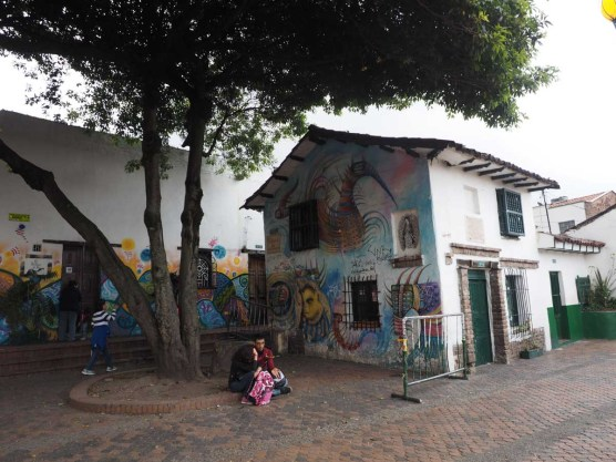 Streetart, Plazuela Del Chorro Del Quevedo, Bogota