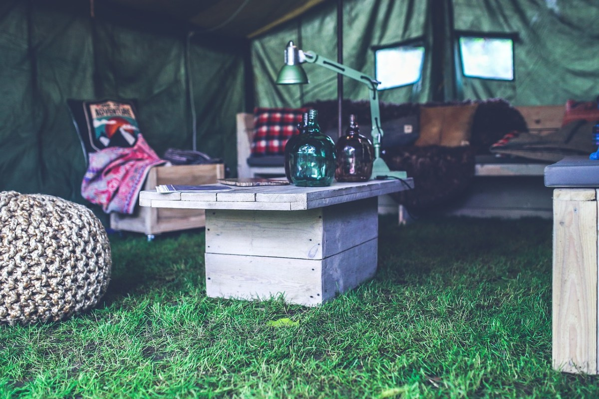 They Call It Glamping: Luxury Camping Near Washington, DC