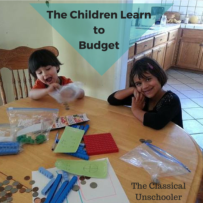 The Children Learn to Budget