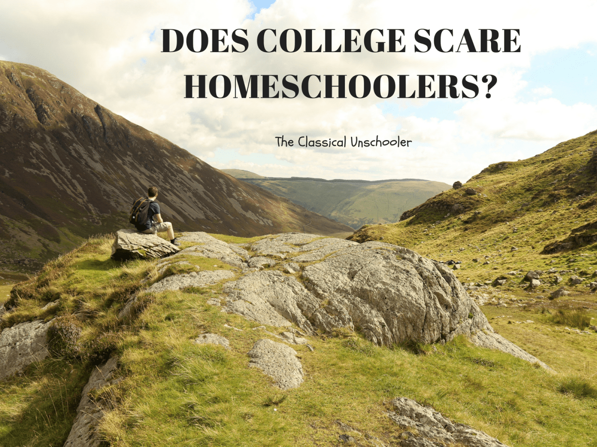 Does College Scare Homeschoolers?