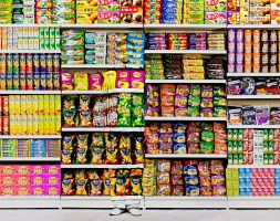 Liu Bolin - Hiding in the City - Puffed Food