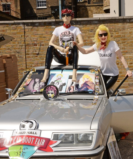 Vauxhall Art Car Boot Fair 2014