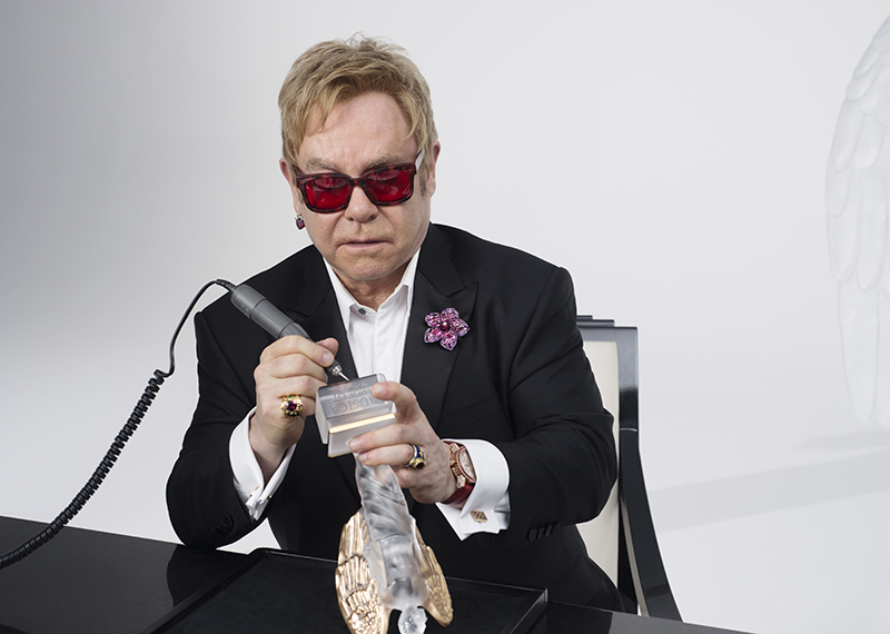 Elton John Music Is Love for LALIQUE