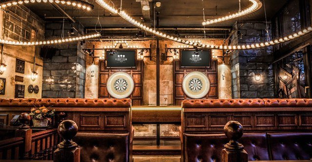 Flight Club: East London's swanky new darts bar
