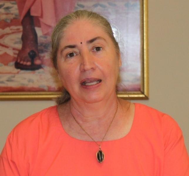 114-Devotee Experiences ~ Daria Eshwari-Chaitanya Woodside, Baton Rouge LA