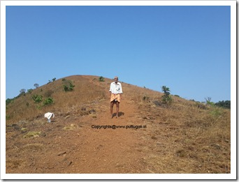 kodachadri trekking guide ganapa