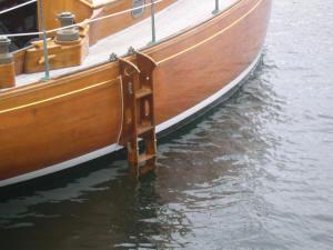 ladder hanged on ship riddle