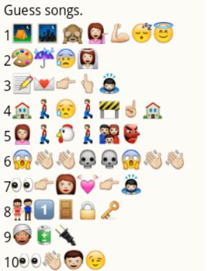 fun emoji quizzes