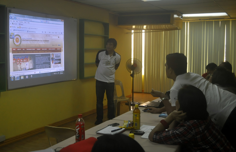Sir Jojo discusses the accessibility issues of DILG website.