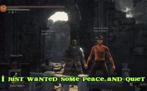Shrek défend son marais dans Dark Souls 3