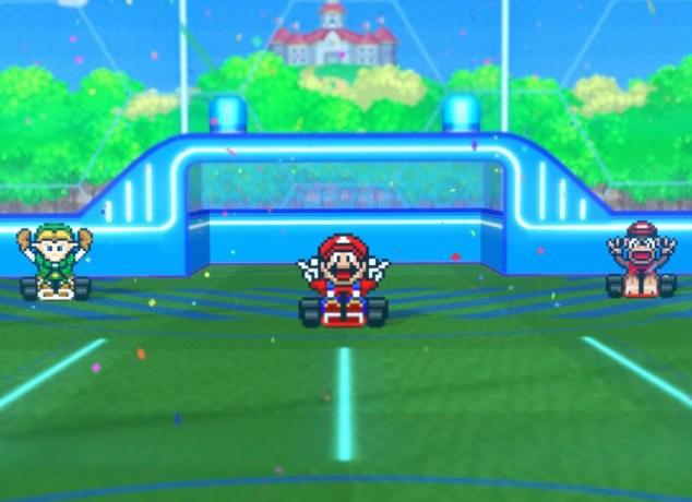 Mario Kart Rocket League Image