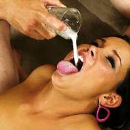 Tanner Mayers forced cum drinking