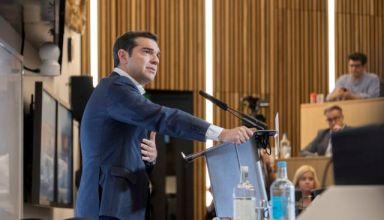 (Ξένη Δημοσίευση)  Ο  πρωθυπουργός Αλέξης Τσίπρας μιλάει στο London Business School στο Λονδίνο, την Τετάρτη 27 Ιουνίου 2018. ΑΠΕ-ΜΠΕ/ΓΡΑΦΕΙΟ ΤΥΠΟΥ ΠΡΩΘΥΠΟΥΡΓΟΥ/Andrea Bonetti