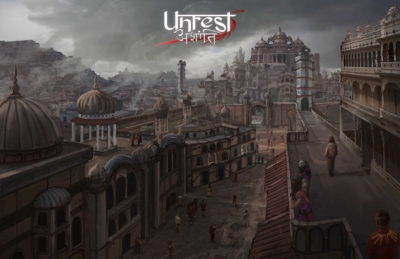 Unrest banner huge
