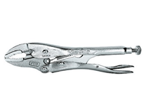 Curved Jaw Locking Pliers with Cutter VIS-1002L3