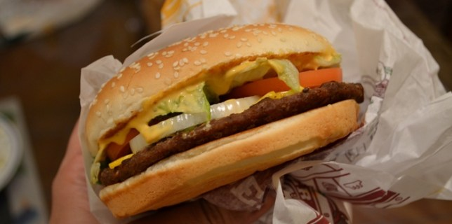 The New California Whopper from Burger King