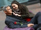 George Clooney Wax Figure in London