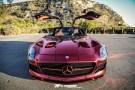 The Iron Man Mercedes-Benz SLS AMG