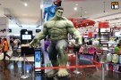 Hulk Statue at Virgin Megastore in Dubai