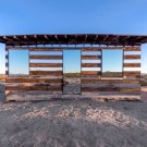 Artist Uses Mirrors To Make a Transparent Desert Cabin