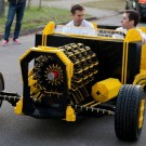 Air-Powered Car Made From 500,000 Pieces Of LEGO