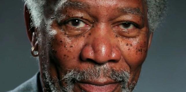 Incredible Portrait of Morgan Freeman Painted on an iPad