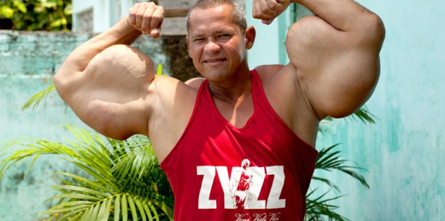 Brazilian Bodybuilder With 29-Inch Biceps