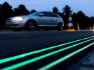 Glow-In-The-Dark Smart Highway
