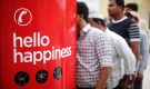 Coca-Cola Hello Happiness Phone Booth in UAE