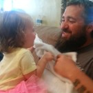 Little Girl Horrified After Dad Shaves His Beard Off