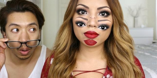 Double Vision Makeup