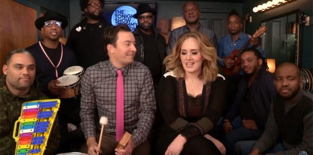 Adele Hello And Jimmy Fallon