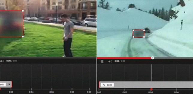 YouTube New Video Custom Blurring