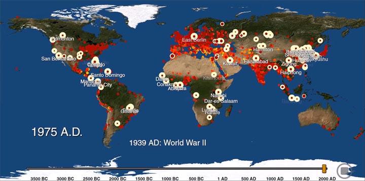 World Map 2000 Bc.The History Of Urbanization 3700 Bc 2000 Ad Rzma Com