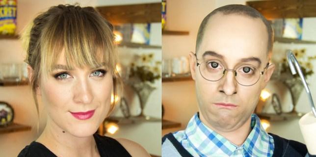 Makeup Artist Transformation