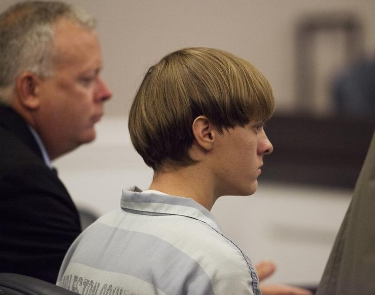 Black church shooter had cold, hateful heart