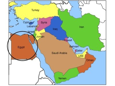 In what continent is Egypt? - Quora