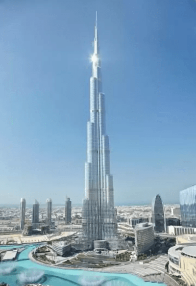 Was the world's tallest building, Burj Khalifa, built by Samsung? - Quora