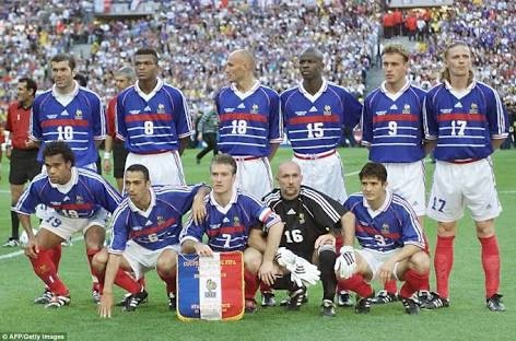 What s the best France national football team jersey of all time     Answer Wiki