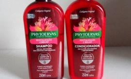 Shampoo e condicionador - Phytoervas Revitalização e Brilho