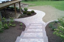Custom Brick Paving