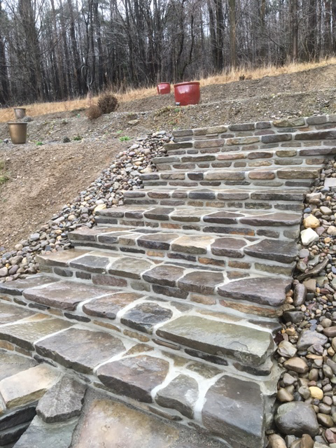 custom stone stairs buffalo ny