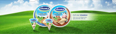 Bảng hiệu Hiflex hệ thống cửa hàng sữa