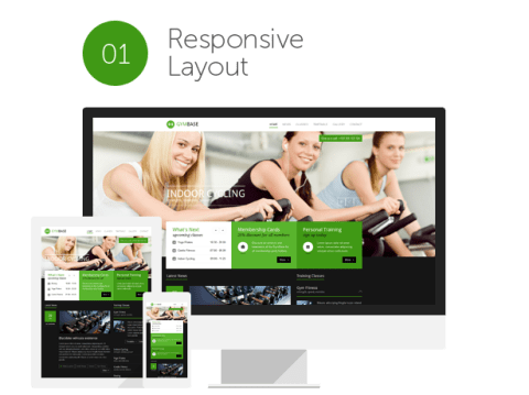 GymBase Gym Fitness WordPress Theme Free