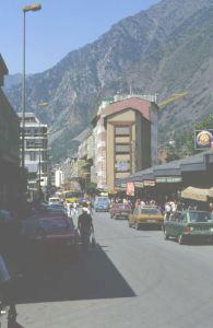Impression in Andorra 1980