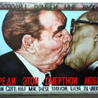 East Side Gallery, o Muro de Berlim!