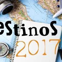 Destinos de viagem em 2017