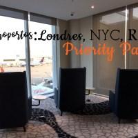 Aeroportos e o Priority Pass