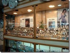 Seiko & Alba displays