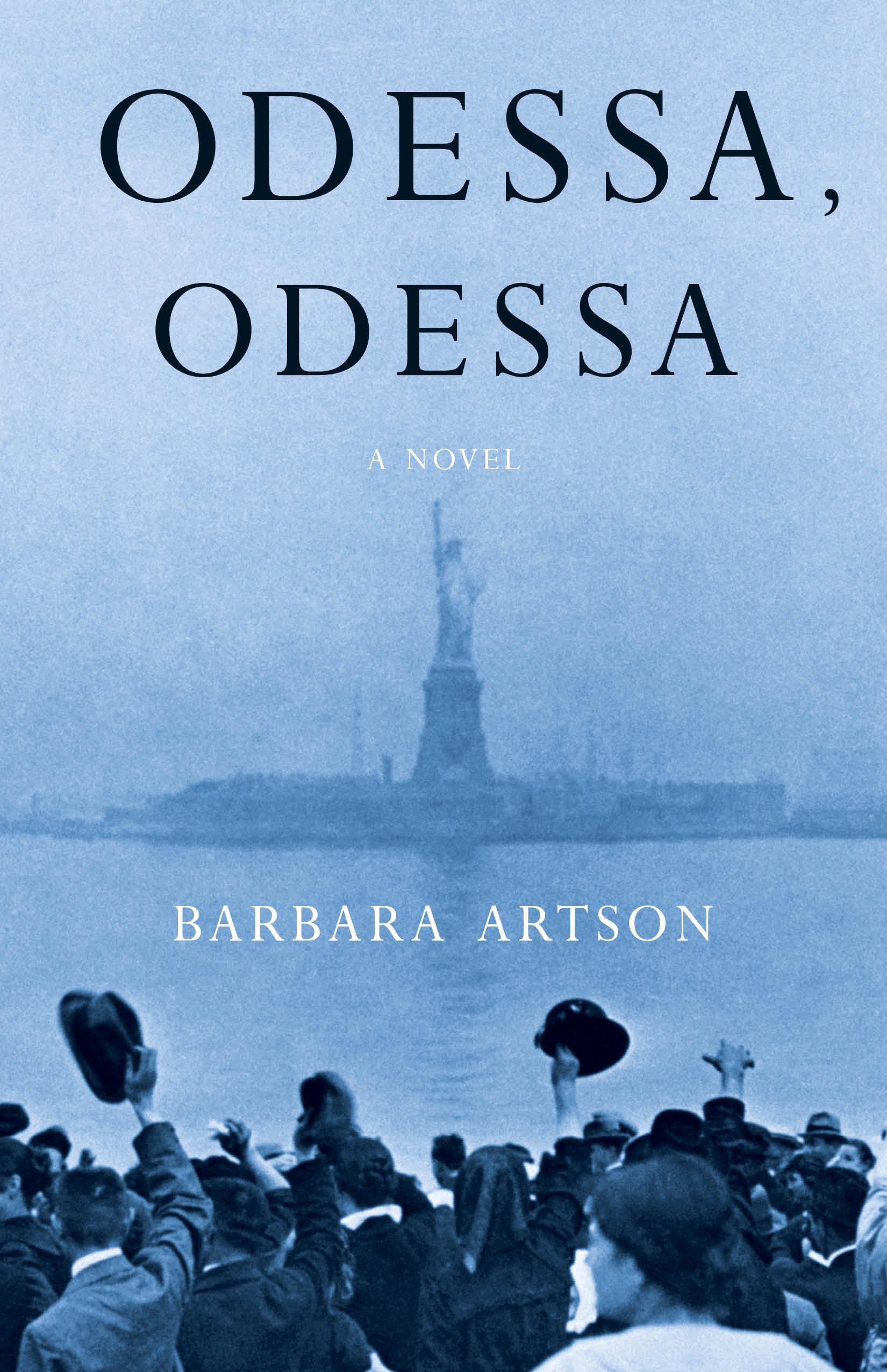 Book Cover Odessa, Odessa a Novel